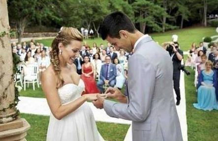 Novak Djokovic bientôt Papa & Marié!