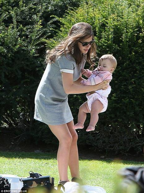 Tammin Sursock et sa fille Phoenix!