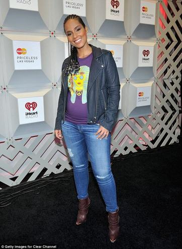 Alicia Keys Enceinte de 6 mois!