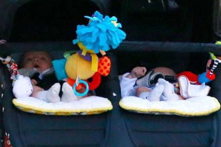 Présentations cachées des bébés!