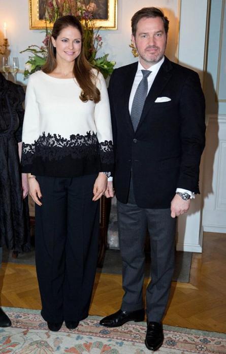 Princesse Madeleine de Suède enceinte de 5 mois!