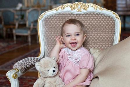 Princesse Leonore de Suède fête son 1er Anniversaire!