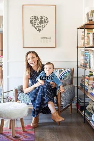 Michaëla McManus et son fils Gabriel!