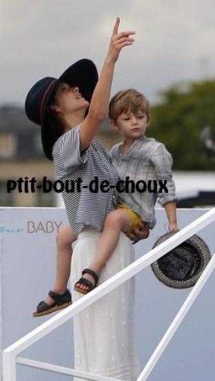 Marion Cotillard et son petit Marcel!