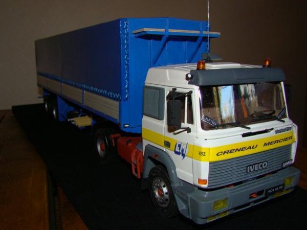 IVECO Turbostar entreprise CRENEAU MERCIER 89100 SENS