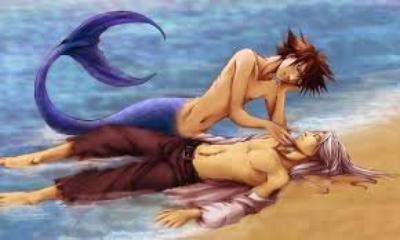 Sora x Riku Little Mermaid
