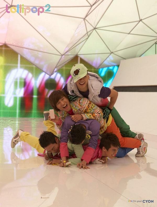 Lollipop 2 des BigBang est faites par des pervers croyais moi ._.