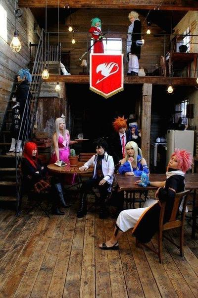 Cosplay Team Fairy Tail