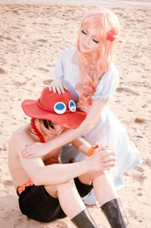 Cosplay Portgas.D Rouge