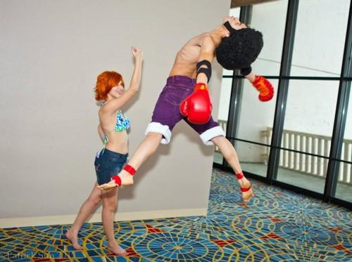 Cosplay Monkey D. Luffy
