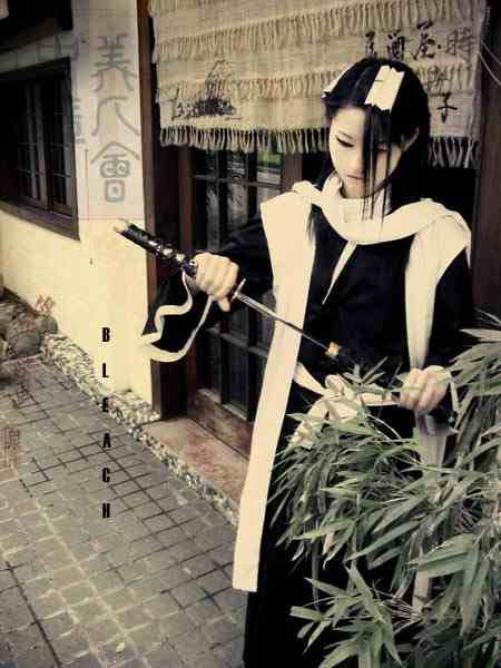 Cosplay Byakuya Kuchiki
