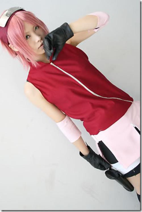 Cosplay Sakura Haruno