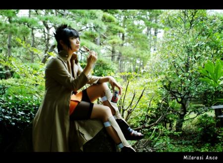 Cosplay Anko Mitarashi