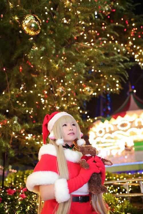 Cosplay Chii ~ Photoshoot spéciale Noël ~