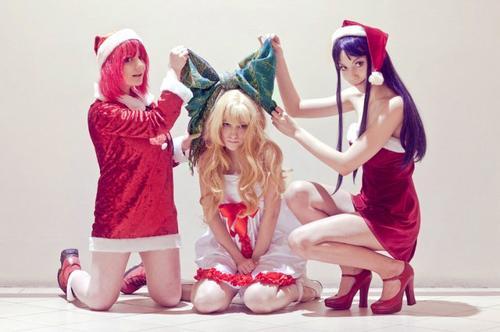 Cosplay Toradora ~ Spéciale Noël ~