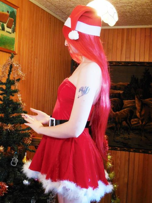 Cosplay Christmas Erza ~ Photoshoot ~
