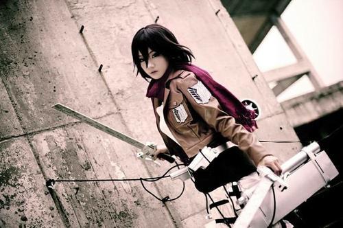 Cosplay Mikasa Ackerman