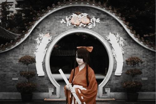 Cosplay Tsubaki Kasugano