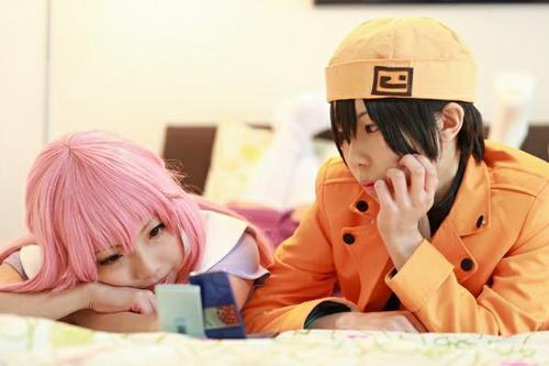 Cosplay Amano Yuki et Yuno Gasai