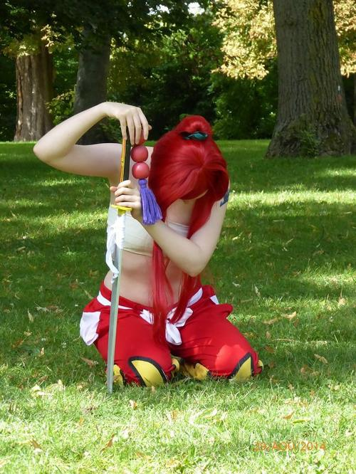 Clin d'½il Cosplayeuse ~ Fantome