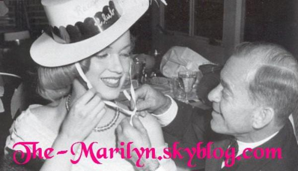 Marilyn & Johnny Hyde ♥