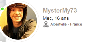 Attention les filles , faites attention a ce batard de fake  ==> mystermy73