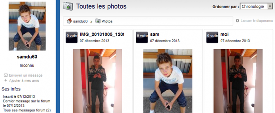 Attention les filles , faites attention a ce fake de merde   ==> kevin720