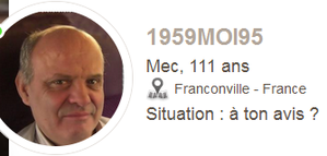 Attention a ce gros pedo ==>> 1959moi95