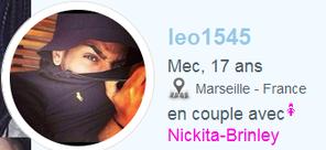 ne vous approchez pas de cette grosse fake ==> leo1545 et Nickita-Brinley