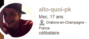 Attention a ce fake ==>> allo-quoi-pk