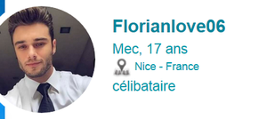 Attention a ce minable fake : florianlove06