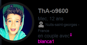 Encore un fake pedofil qui fake Benjamin Lasnier : tha-o9600
