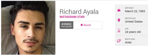 Encore un vieu pedo qui fake Richard Ayala ==> thomasdu160