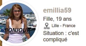 Attention a cette fake ==> emillia59