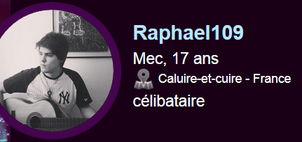Attention a ce fake ==>  raphael109