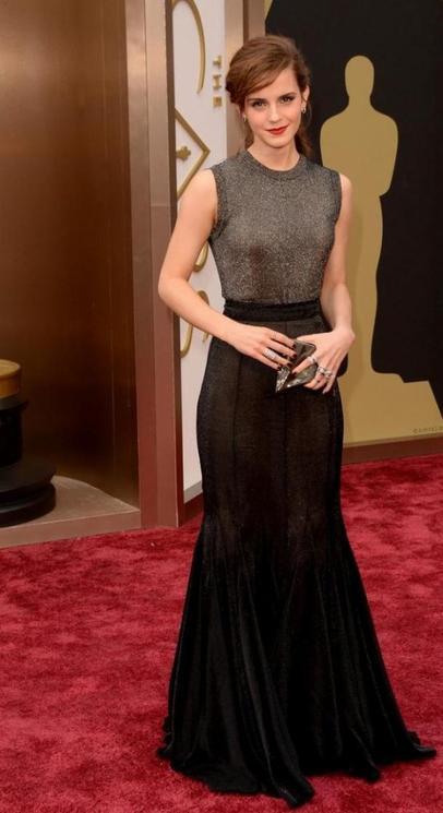 Emma Watson à la cérémonie des Oscars 2014