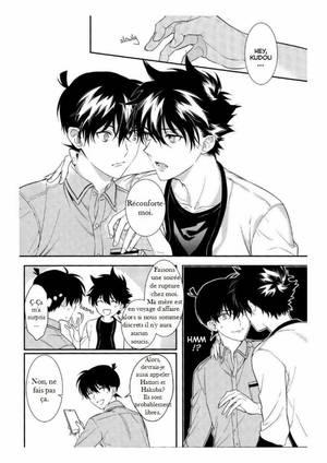 Doujin Shinichi Kudo x Kaito Kuroba : Uso wa Koi no Hajimari