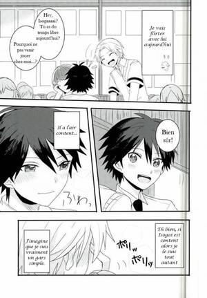 Doujin : Hiroto Maehara x Yuma Isogai : Synchro Heart