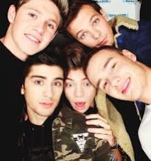 Niall, Zayn, Harry, Liam and Louis! <3
