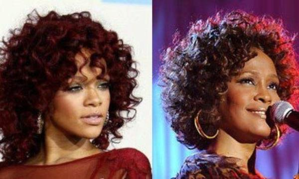 Rihanna toujours aussi blonde.
