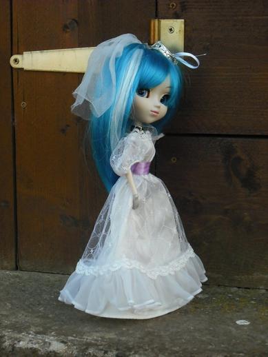 en robe de marié