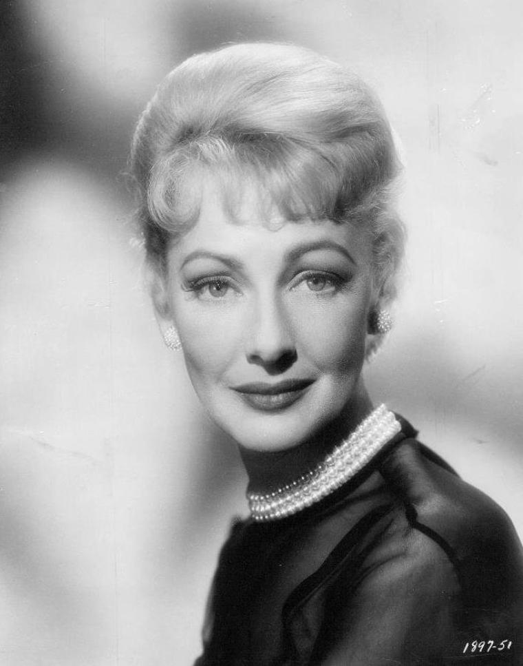 Virginia GREY (22 Mars 1917 / 31 Juillet 2004) (photo N.B. 1961)