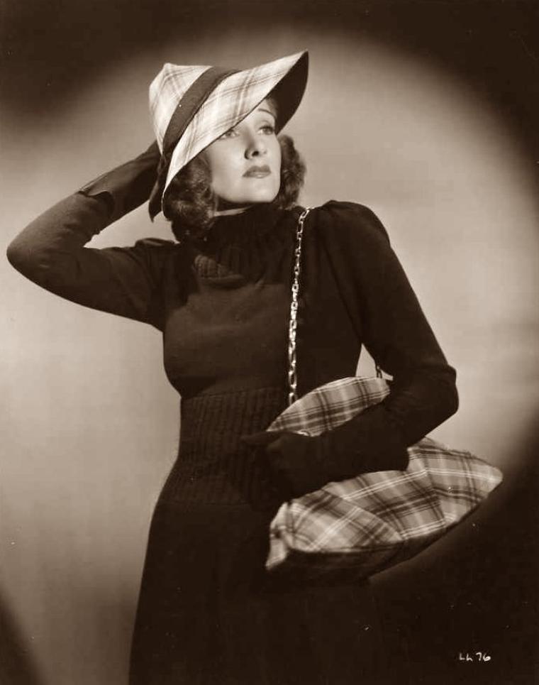 Lola LANE (21 Mai 1906 / 22 Juin 1981) (photo sépia 1937)