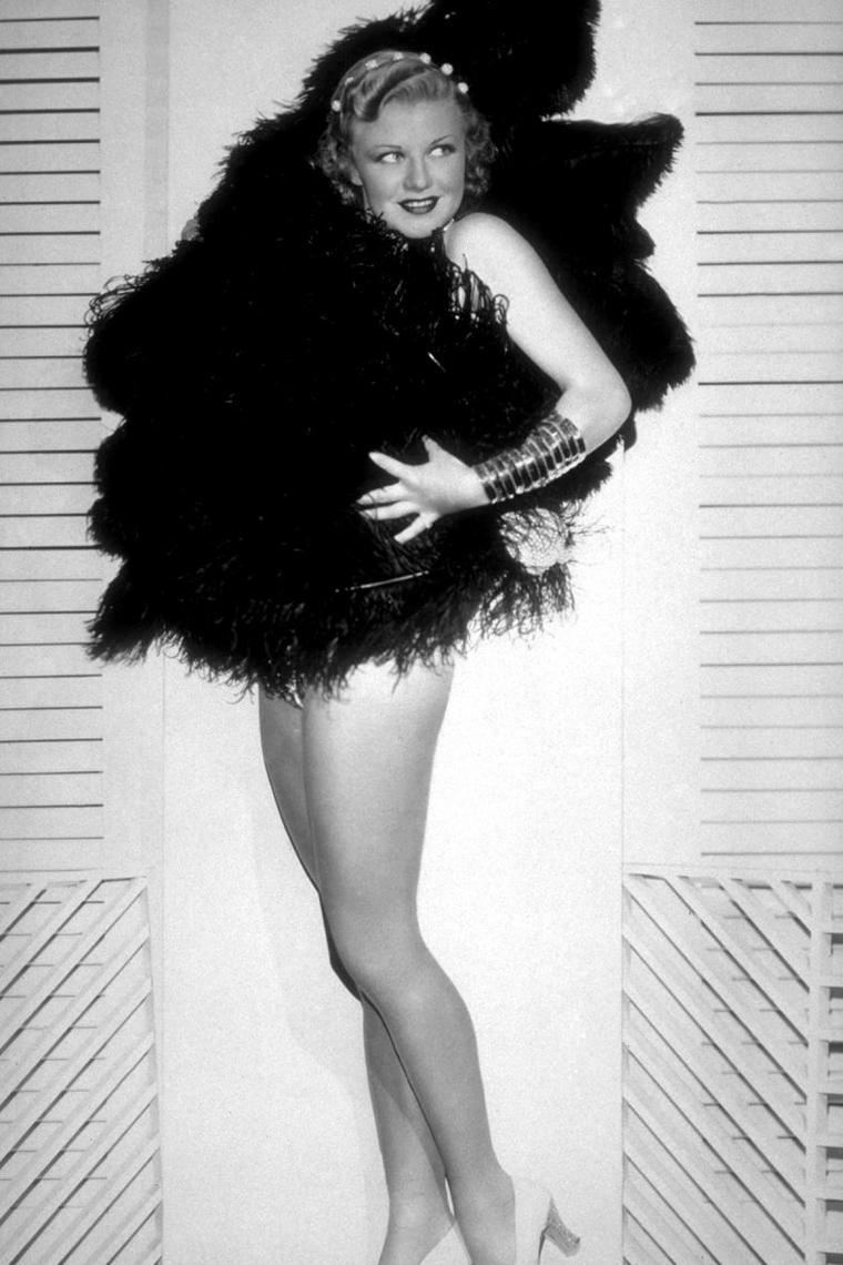 Ginger ROGERS (16 Juillet 1911 / 25 Avril 1995)