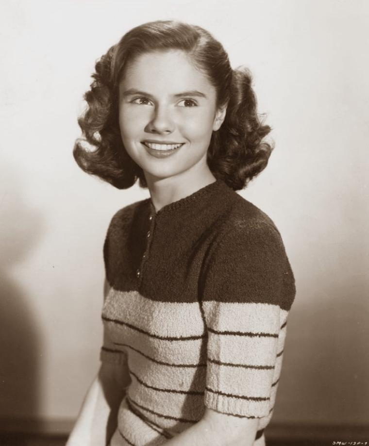 Ann E TODD (26 Août 1931) (photo sépia 1948)
