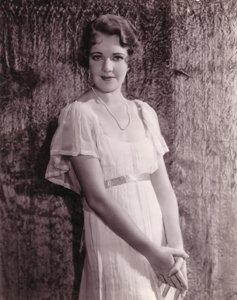 Ruby KEELER (25 Août 1910 / 28 Février 1993) (photo N.B. 1938)