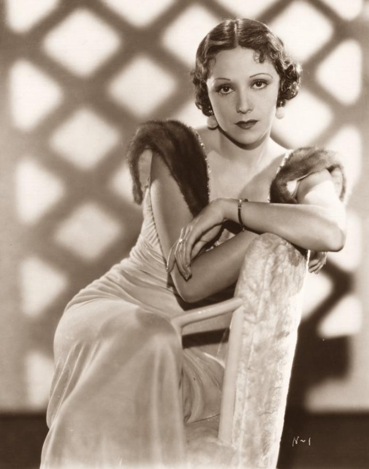 Rosita MORENO (18 Mars 1907 / 25 Avril 1993) (photo N.B. 1933)