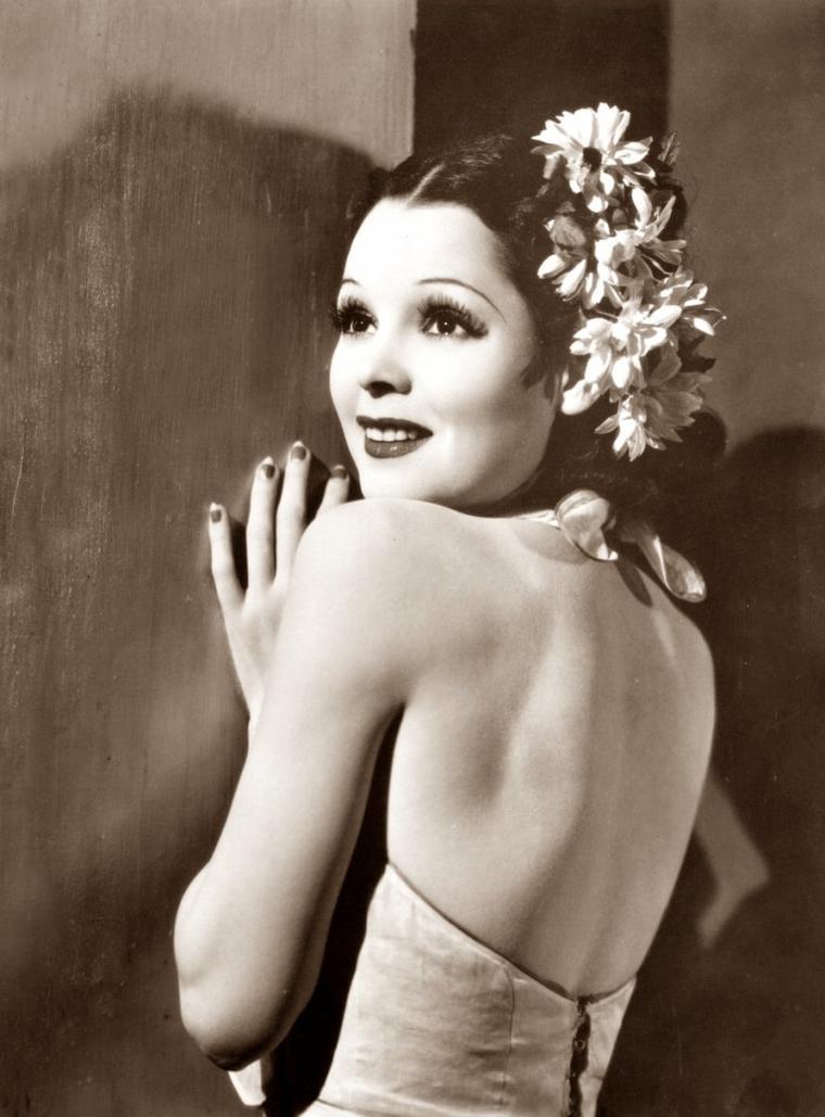 "Armida VENDRELL plus connue sous le pseudo de ""Armida"" (29 Mai 1911 / 23 Octobre 1989) (photo sépia 1936)"