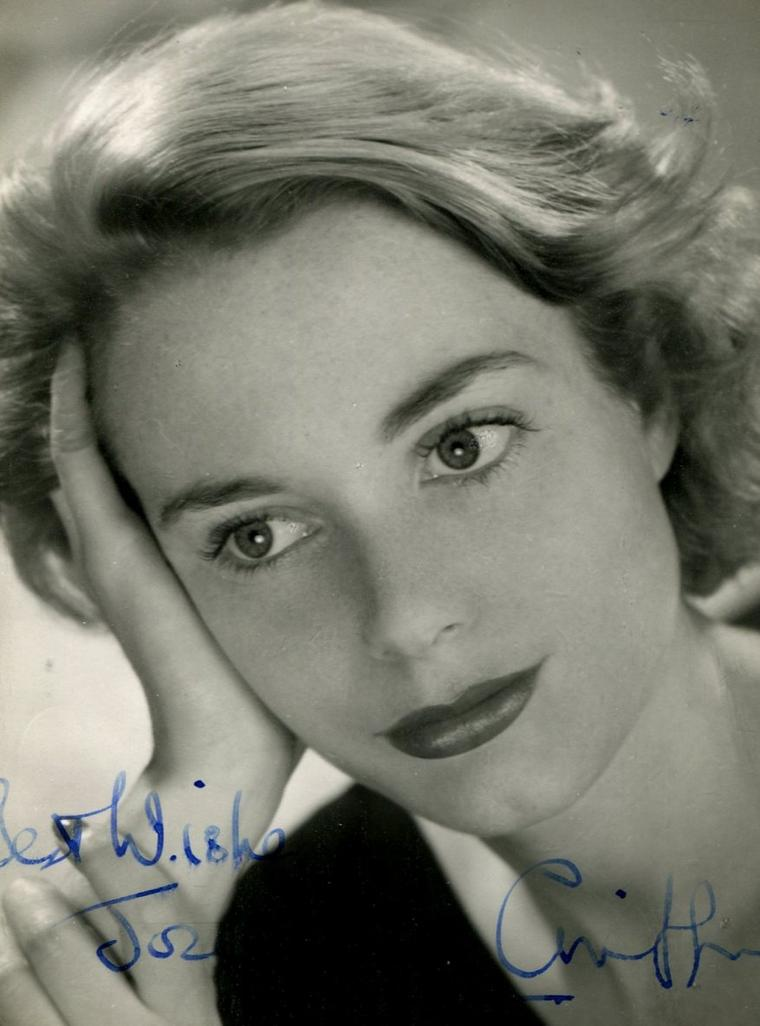Josephine GRIFFIN (13 Décembre 1928 / 15 Septembre 2005) (photo couleur 1956)