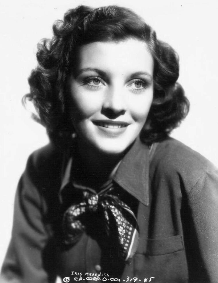 Iris MEREDITH (3 Juin 1915 / 22 Janvier 1980)